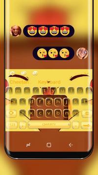 kawai Pikachu Keyboard poster