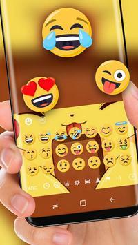 kawai Pikachu Keyboard screenshot 1