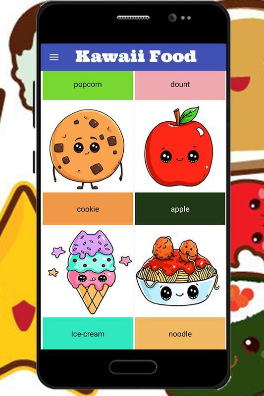 How To Draw Kawaii Food For Android Apk Download
