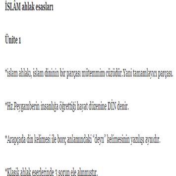 ilahiyat islam ahlak esaslari poster