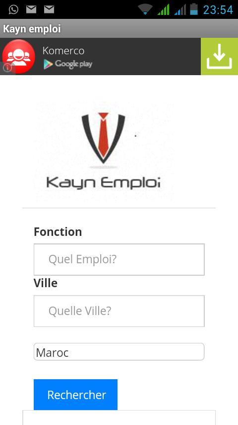 Recherche Automatique Demploi For Android Apk Download
