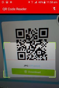 QR Code Reader App apk screenshot