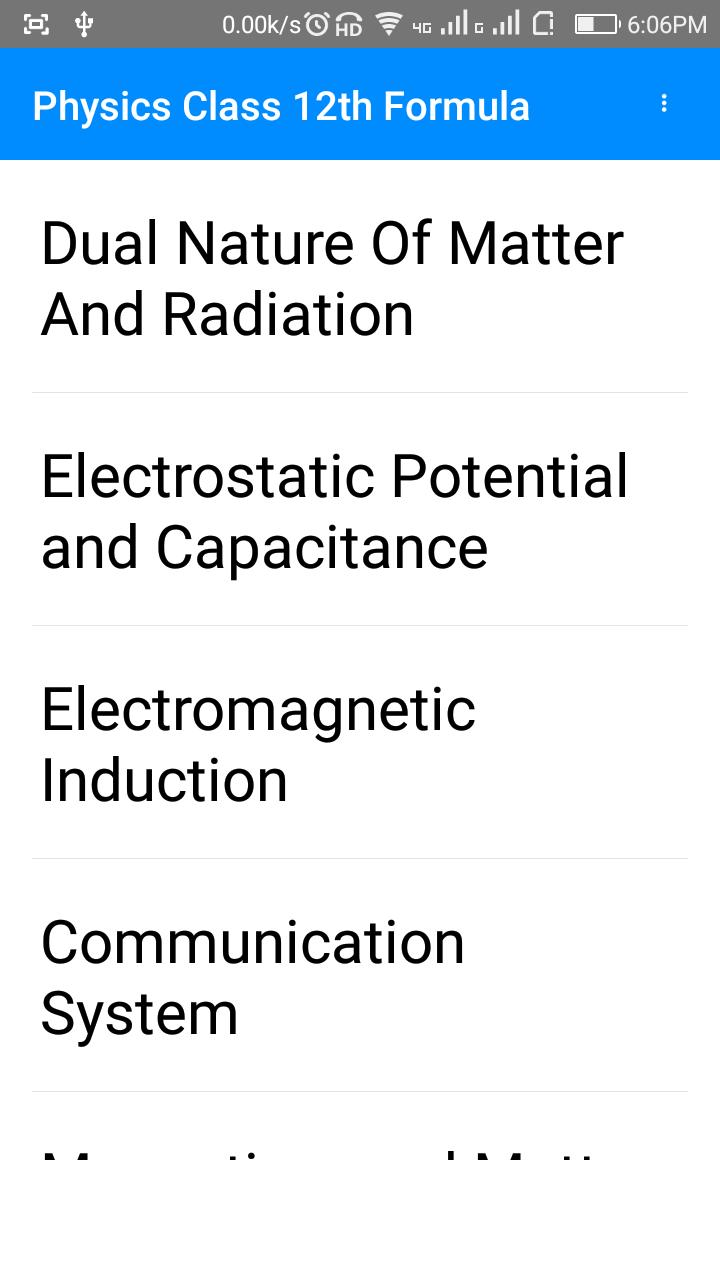 Physics formulas 12 th pdf for Android - APK Download