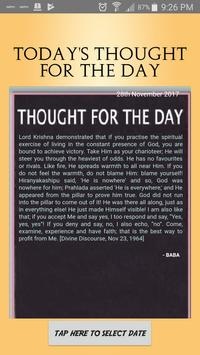 Sai Thoughts poster