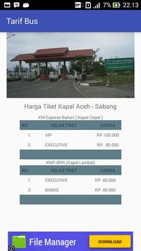 Jadwal - Ferry Aceh Sabang screenshot 4