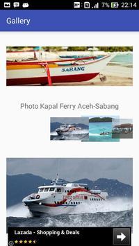 Jadwal - Ferry Aceh Sabang screenshot 5