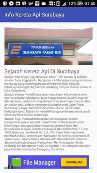 Jadwal - Kereta Api Surabaya screenshot 2