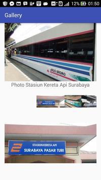 Jadwal - Kereta Api Surabaya screenshot 5