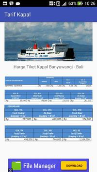 Jadwal Ferry Banyuwangi - Bali apk screenshot