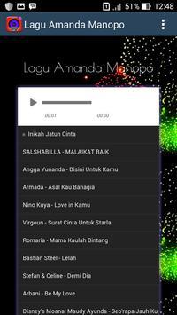 Lagu Amanda Manopo screenshot 1
