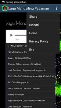 Lagu Mandailing Pasaman screenshot 2
