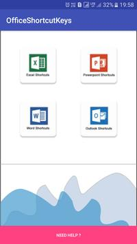 Office Shortcuts poster