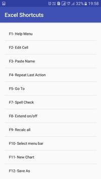 Office Shortcuts screenshot 1
