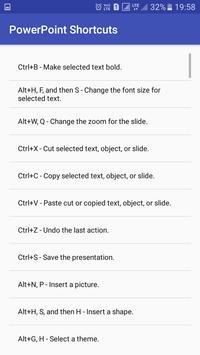 Office Shortcuts screenshot 2