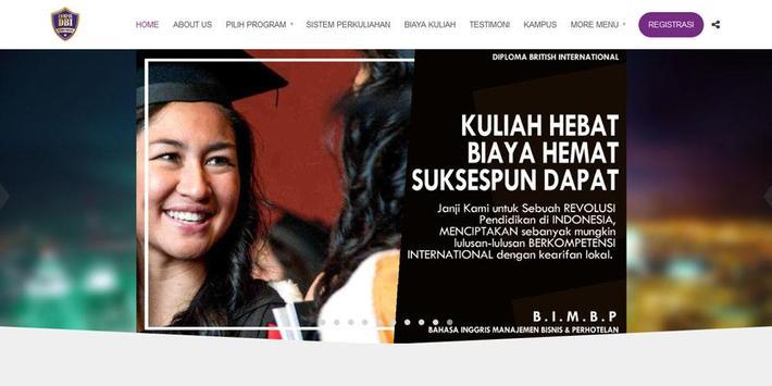 Kampus DBI - Beyond Diploma poster