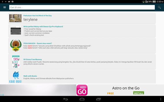 Kamus Pro Online Dictionary apk screenshot
