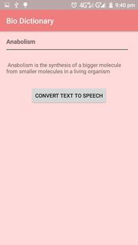Biology Dictionary screenshot 3