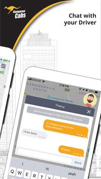 Kangaroo Cabs apk screenshot