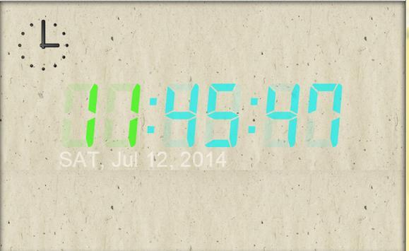 デジタルの時計 poster