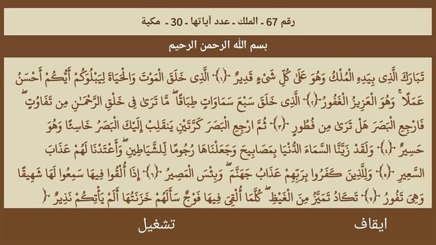 القرآن صوت و صورة بدون نت بصوت الشيخ الغامدي screenshot 14