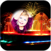 Water Fountain Photo Frame icon