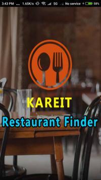 KAREIT Restaurant Finder poster