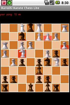 Karoshi Karate Chess Lite screenshot 1