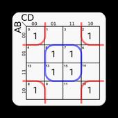 Karnaugh Kmap Solver (FREE) icon