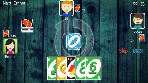 Uno Best Card Game screenshot 2