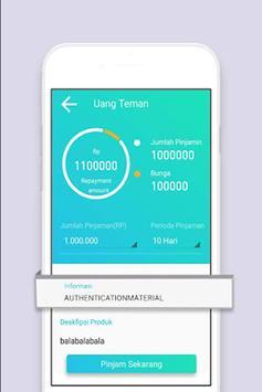 Pinjaman Cepat - Kredit Pinjaman Uang Tunai screenshot 1