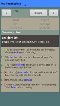 English Vocab Pages Trial screenshot 5