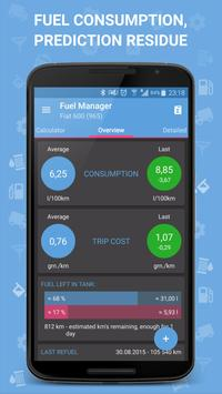 Fuel Manager Pro (Consumption) 海报
