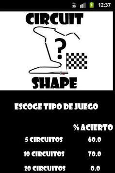 Circuit Shape poster