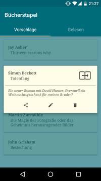 Bücherstapel screenshot 1