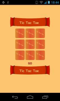 TIC TAC TOE _ O vs X poster