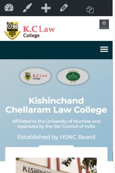 K.C Law College Mumbai screenshot 1