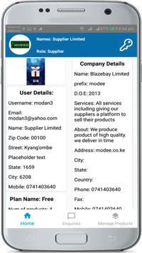 Blazebay Suppliers screenshot 1