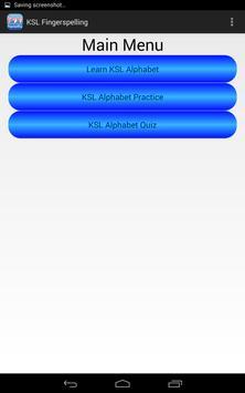 KSL Fingerspelling apk screenshot