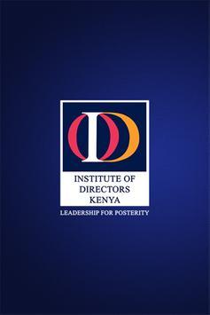 IoD (Kenya) poster
