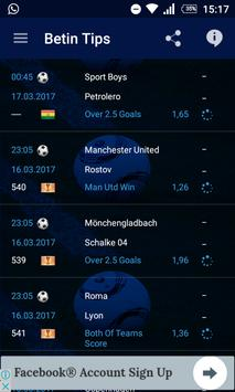 Betin Tips apk screenshot