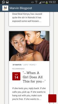 Marvin's Blog apk screenshot