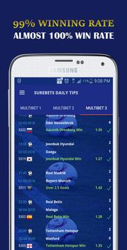 Surebets Daily Tips- Daily Sports Betting Tips poster