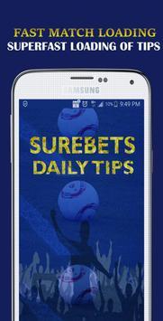 Surebets Daily Tips- Daily Sports Betting Tips apk screenshot