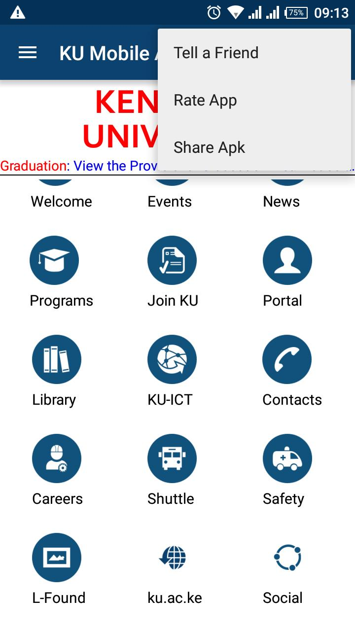 Kenyatta University for Android - APK Download