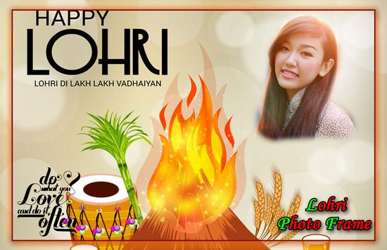 Lohri Photo Frames poster