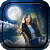 Moon Photo Frames icon