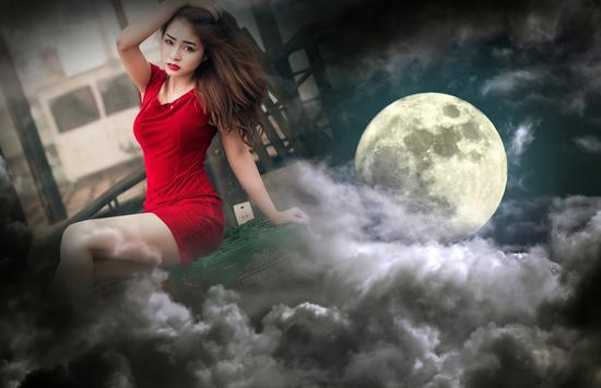 Moon Photo Frames apk screenshot