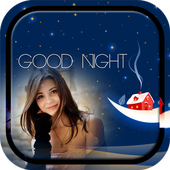Good Night Photo Frame icon