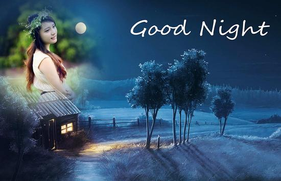 Good Night Photo Frame apk screenshot