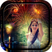 Firework Photo Frame icon